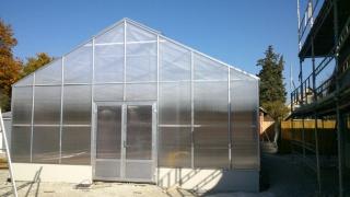 Växthus i polykarbonat 8x25 m