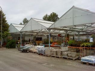 Garden Center växthus